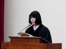 東洋英和女学院で全学院新年度礼拝、メッセージは新学院宗教部長の伊勢田奈緒氏
