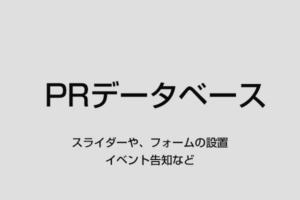 データベースでPR 1万円/無期限(キャンペーン中)